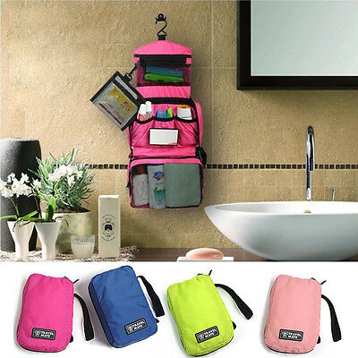 Cosmetic Makeup Travel Toiletry Hanging Purse Holder Beauty Wash Bag Organizer