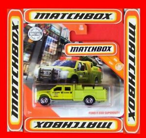 MATCHBOX-2020-FORD-F-550-SUPERDUTY-22-100-NEU-amp-OVP