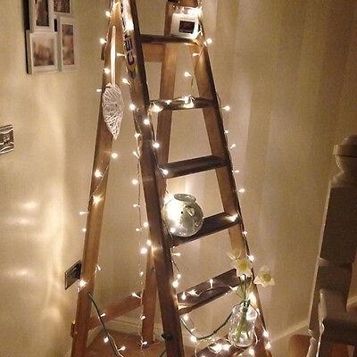 1 Set Warm White 10M 100 LED String Fairy Light Lamp For Wedding Xmas Room Decor