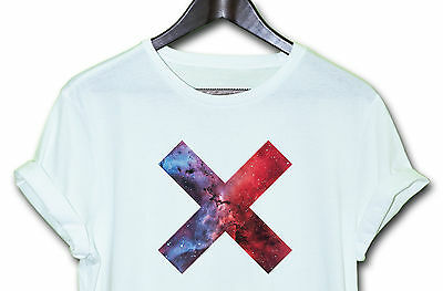 X GALAXY  TEE HIPSTER INDIE SWAG FUNNY T SHIRT TOP CLOTHING MEN'S WOMEN'S
