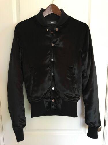 Amiri Velvet Bomber Jacket in Black [Size S]