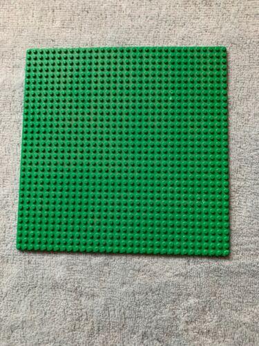 25,5 x 25,5 cm LEGO    Bauplatte Grundplatte grün 32 x 32 Noppen   ca