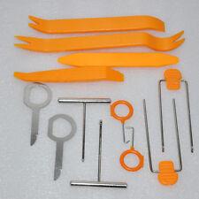 12PCS Plastic Car Radio Door Clip Panel Trim Dash Audio Removal Pry Kit Tool