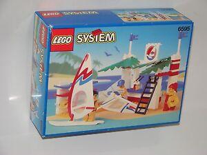LEGO-System-6595-Windsurfer-Schule-NEU-OVP-Surf-Shack-NEW-MISB-NRFB