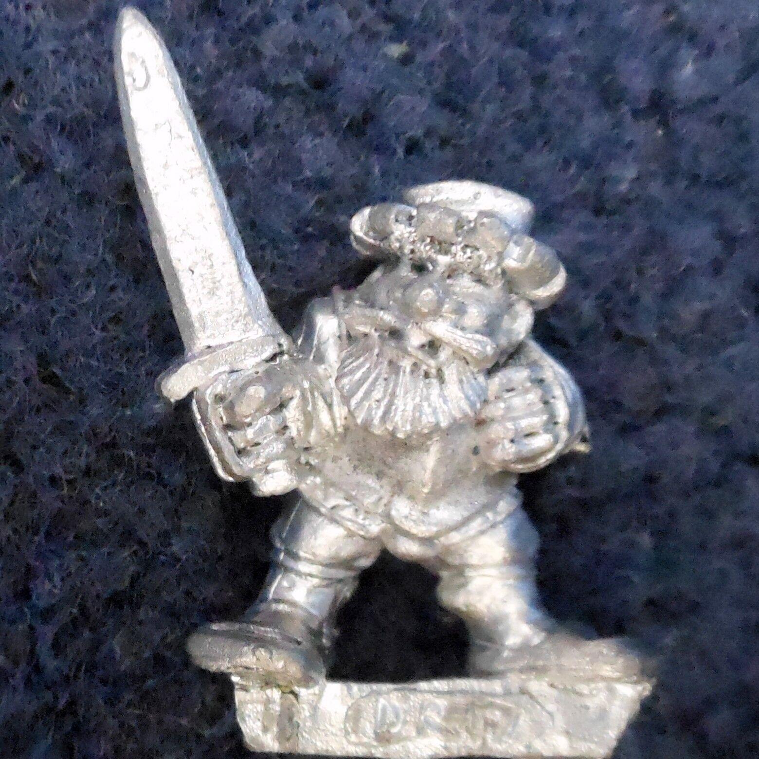 1989 Marauder MM15 DR17 Dwarf Landsnecht MM15 2 Landsknecht Warhammer Regiment