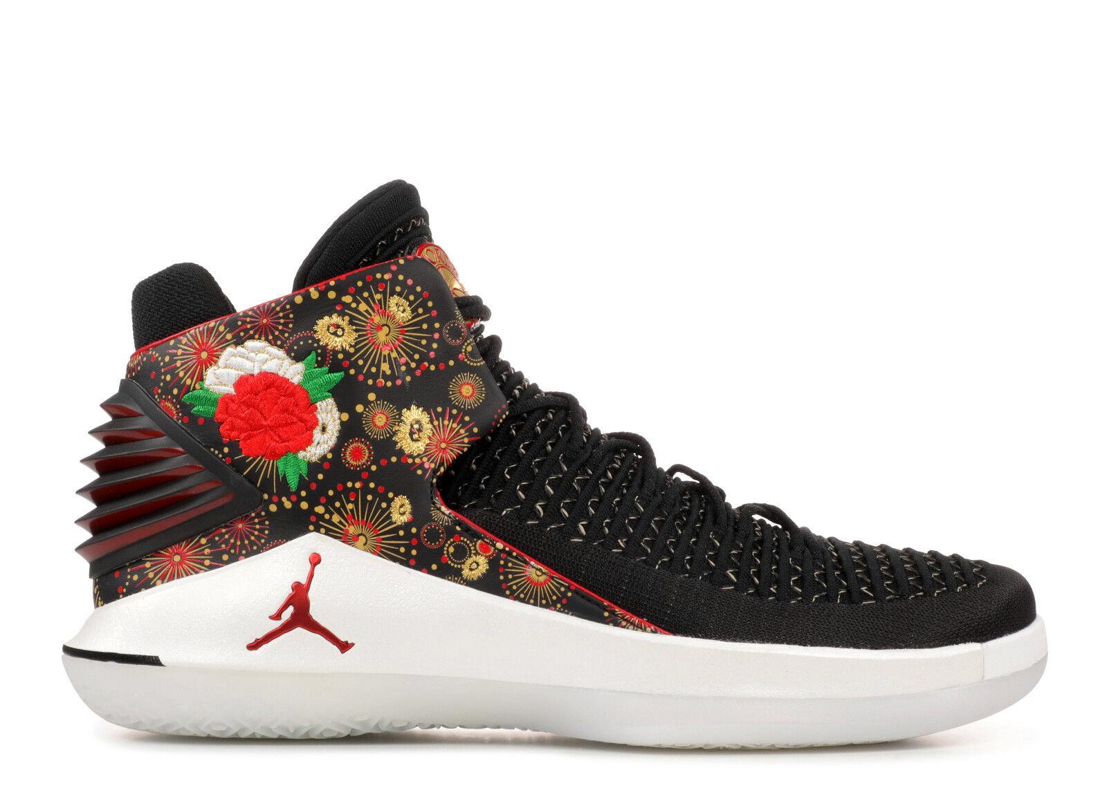Nike air jordan xxxii 32 cny il capodanno cinese 15.aj6331-042.l'oro numero 15.aj6331-042.l'oro cinese bianco. f556e0
