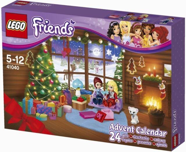 Lego Friends 41040 2014 Advent Calendar Minifigure Girls Xmas Gift Present NISB