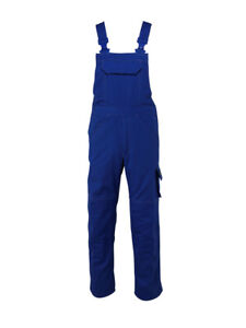 Mascot Newark 46.5 Waist X 35 Leg Measured Work Bib & Brace With Kneepad Pockets