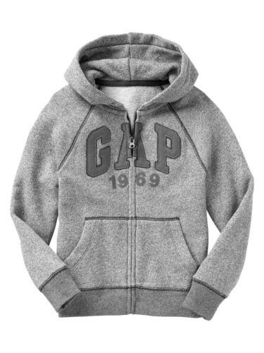 GAP Boys Logo Hoodie Hooded Sweatshirt Grey  XS,S,M,L,XL,2XL NEW NWT