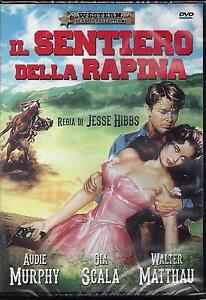 Dvd-video-IL-SENTIERO-DELLA-RAPINA-con-Audie-Murphy-Nuovo-Sigillato-1958