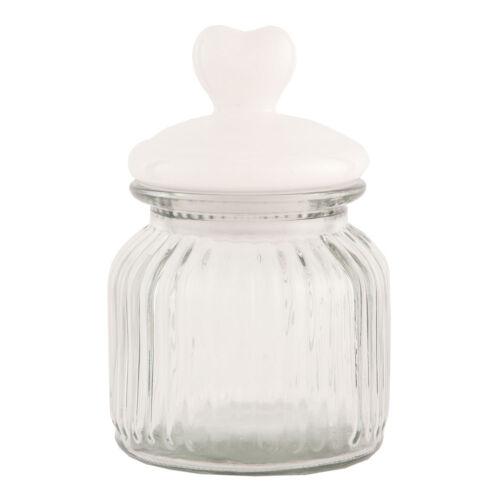 Vorratsglas vorratsdose boite récipient verre Clayre /& Fed maison de campagne 16 CM