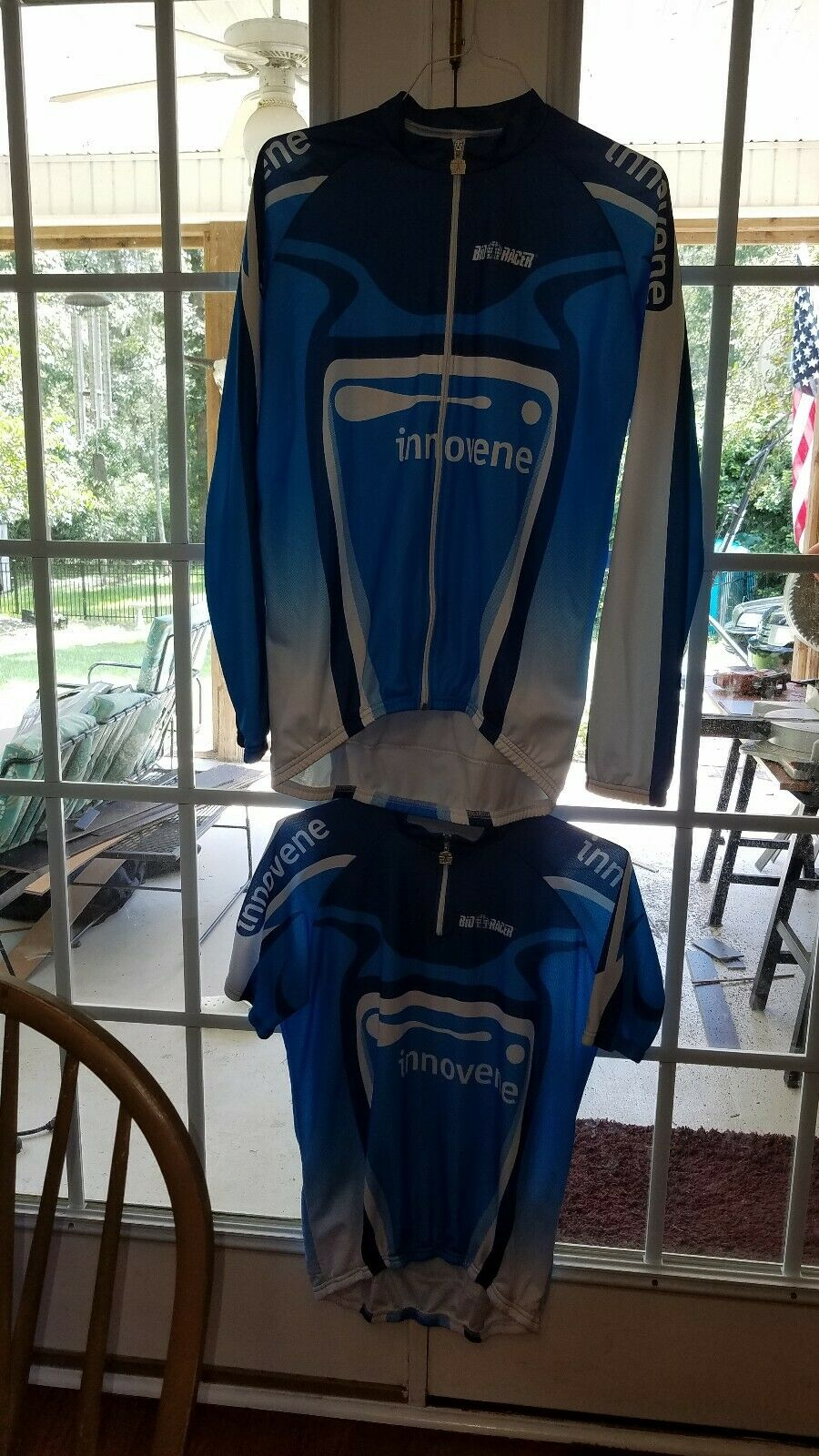 BIORACER Belgique Maillot de cyclisme à hommeches courtes et hommeches longues taille 6 polyethylene