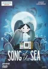 Song of the Sea DVD (2014) Animation Movie DVD English & Francais Dub _ Region 0