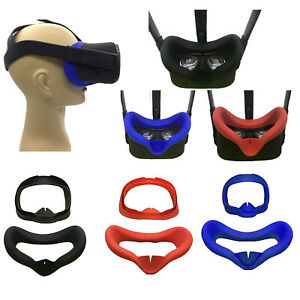 Fuer-Oculus-Quest-VR-Brillen-Silikon-Anti-Schweiss-Augenmaske-Abdeckung-Eye-Cover
