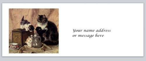 Personalized Kittens Return Address Labels Buy 3 get 1 free bx 16