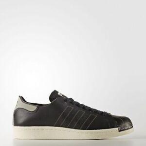 separation shoes 75122 55912 Image is loading Adidas-Men-039-s-Black-White-Superstar-80-