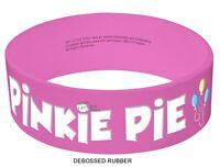 My Little Pony Pinkie Pie Cutie Mark Mlp Rubber Licensed Bracelet Wristband on sale