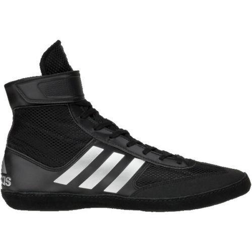promo code 16e62 d1991 ... adidas Combat Speed 5 Wrestling Shoes Boots Black Boxing MMA MMA MMA  e37316 ...