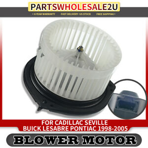 Front for Buick Cadillac Oldsmobile Pontiac HVAC Heater Blower Motor Fan Cage