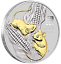 2020-Year-of-the-Mouse-1oz-Silver-Gilded-Coin thumbnail 1