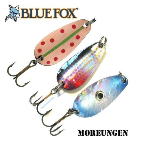 Blue Fox Moreungen spoon BFMU12 12 g Three colors. 40 mm