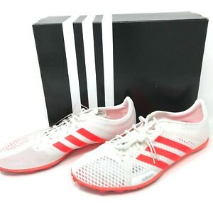 Adidas-Women-039-s-Adizero-Ambition-3-W-Track-Shoes-BA8438-SZ-11-White-Neon-Orange
