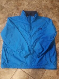 The-North-Face-Hyvent-Jacket-Mens-2XL-XXL-Blue-BM5170