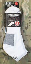 Athletic Socks BLACKHAWK! Low Athletic Cut 4 Pack Socks White Size 13-16 SOCKS