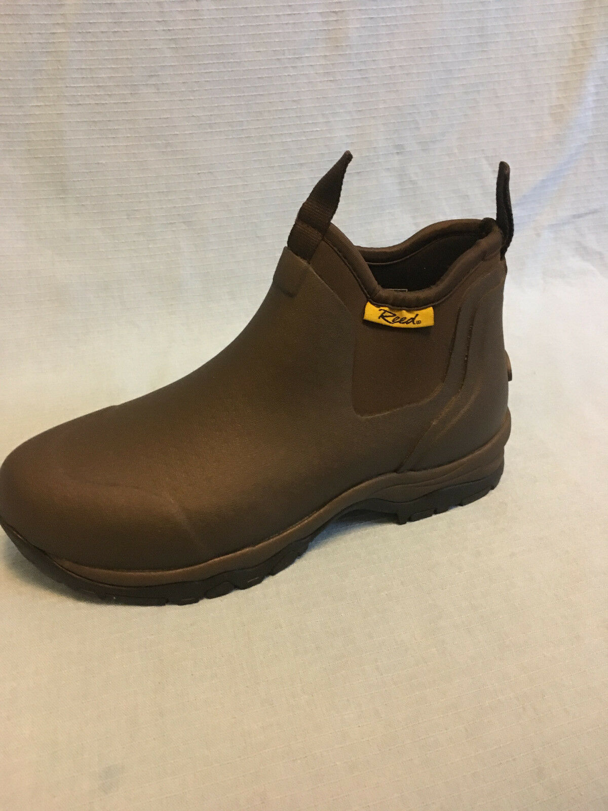 Reed Outdoor Work Boots - Kent Romeo Slip-On - Brown - Men's size 13