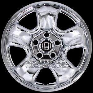 "4 CHROME 2012-16 Honda CRV 16"" Wheel Covers Rim Skins Hub Caps for Steel Wheels | eBay"