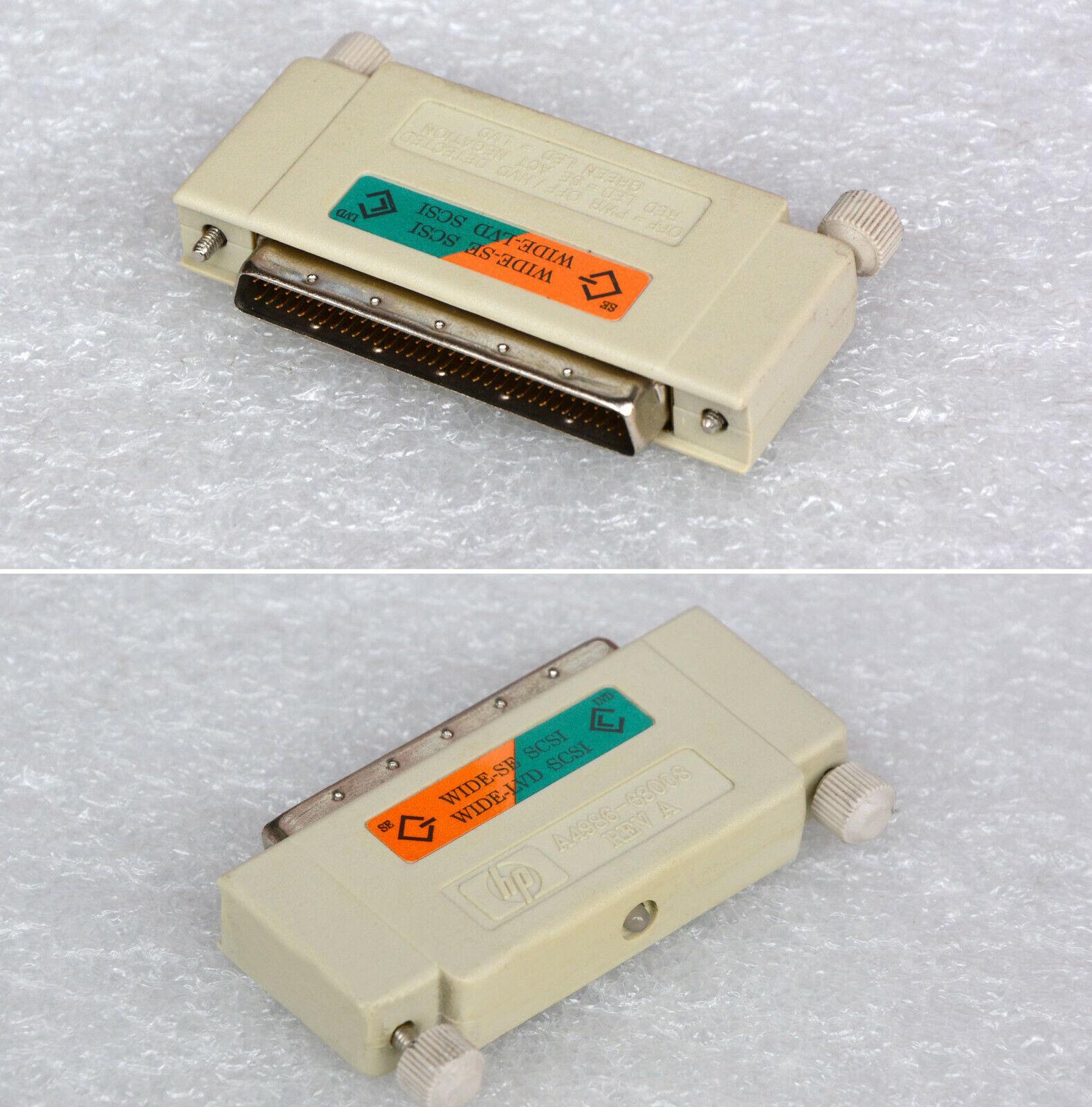 SCSI Others Ultrawide Terminator Lvd/Se HP A4986-63008 68PIN 68POL Jack-Plug #