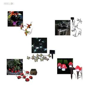 solar lichterkette versch motive dekorative lichtkette gartendeko lichterketten ebay. Black Bedroom Furniture Sets. Home Design Ideas