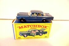 Matchbox Lesney #46 Blue Mercedes Benz 300 SE in Original Box