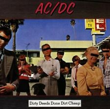 Dirty Deeds Done Dirt Cheap [Remaster] by AC/DC (CD, Jul-1994, Atco (USA))
