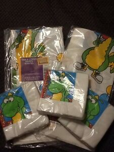 Dudley The Dragon Birthday Party Supplies Lot Of 5 Table Cover