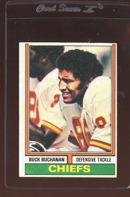 1974 Topps Buck Buchanan #218 Football Card  ex/mt