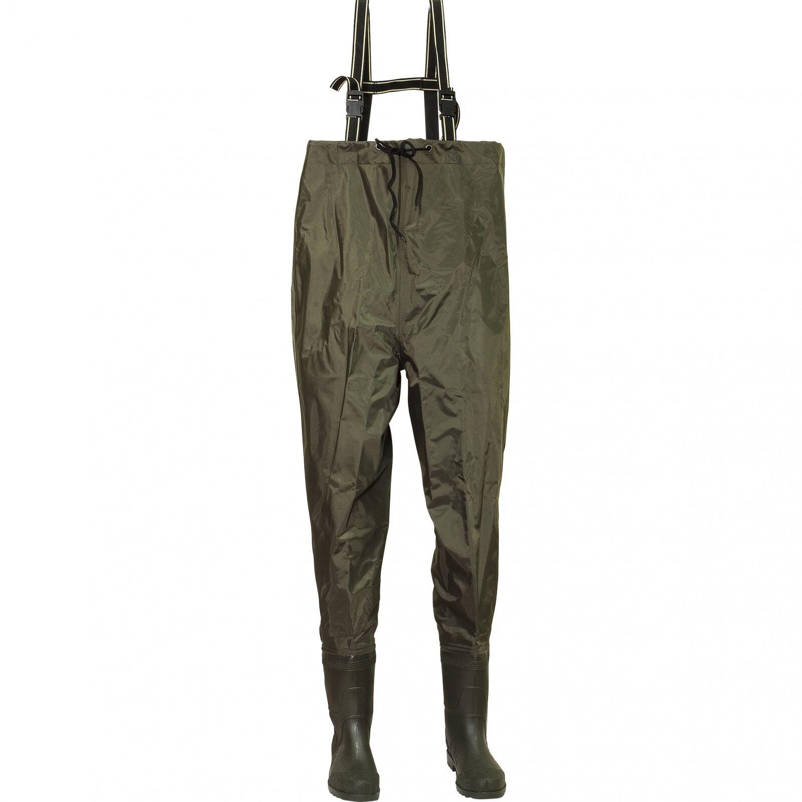 Fladen Wathose Watstiefel Wathosen PVC-Hose Nylonhose Wat-Bekleidung Wader
