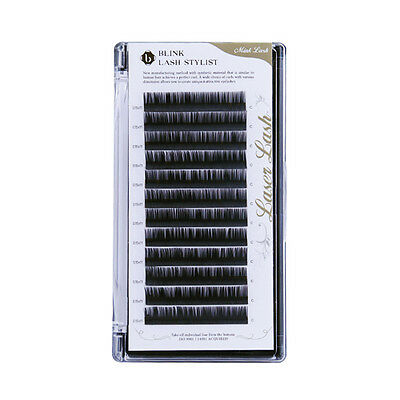 Blink Mink Laser Lash Eyelash Extension Tray C Curl T 0.10~0.25(mm) L 7~15(mm)