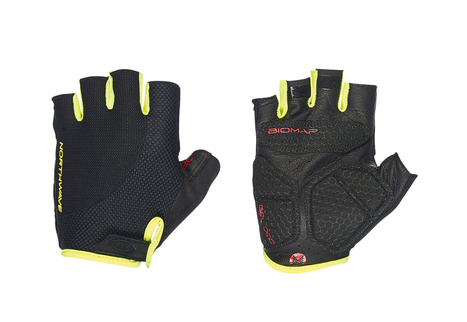 Wimper Handschuhe Sommer Northwave extreme black yellow fluo  Sommer  the newest