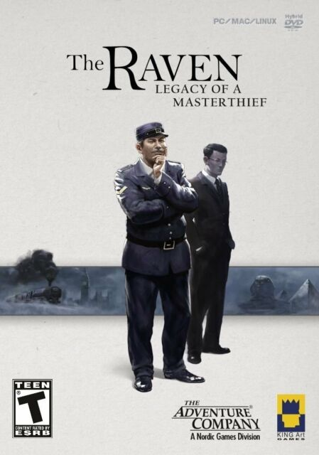 Raven: Legacy of a Master Thief (PC, 2013) *New,Sealed*