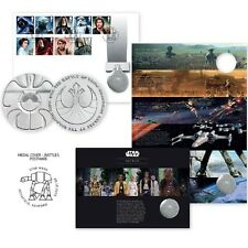 NEW STAR WARS STAMPS MEDAL BATTLES LIMITED EDITION 10,000 NUMBERED