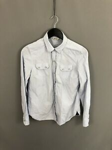 BARBOUR-Shirt-Size-UK12-Blue-Great-Condition-Women-s