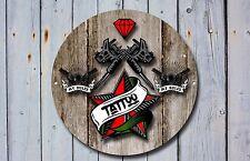 TATTOO shop sign, metallo segno, Tattoo SHOP segnali, uno stile moderno, Tatuaggio segno, 911
