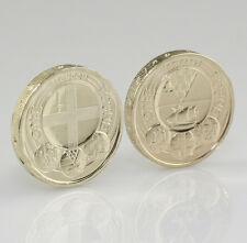 2010 Capital Cities LONDON & BELFAST £1 Pound Coins Brilliant Uncirculated (HZ73