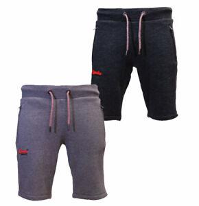 637c13de3f Superdry New Mens Summer Orange Label Cali Jogger Sweat Shorts Black ...