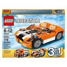 Lego Creator ~ Sunset Speeder (31017)~ 3 in 1~ Speeder, Race Car or Truck- BNIB
