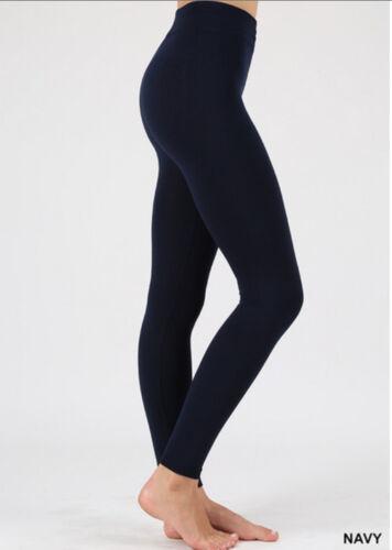 1X//2X-2X//3X NEW Plus Size Winter Warm Fleece Lined Stretch Leggings
