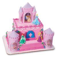 Decopac Disney Princess Castle Cake Kit Decorations Topper Party Figurines Ariel
