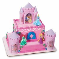Decopac Disney Princess Castle Cake Kit Decorations Topper Party Figurines Ariel