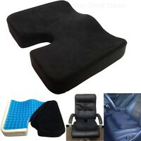 Coccyx Orthopedic Gel-enhanced Comfort Foam Seat Car Pillow Cushion Back Pain